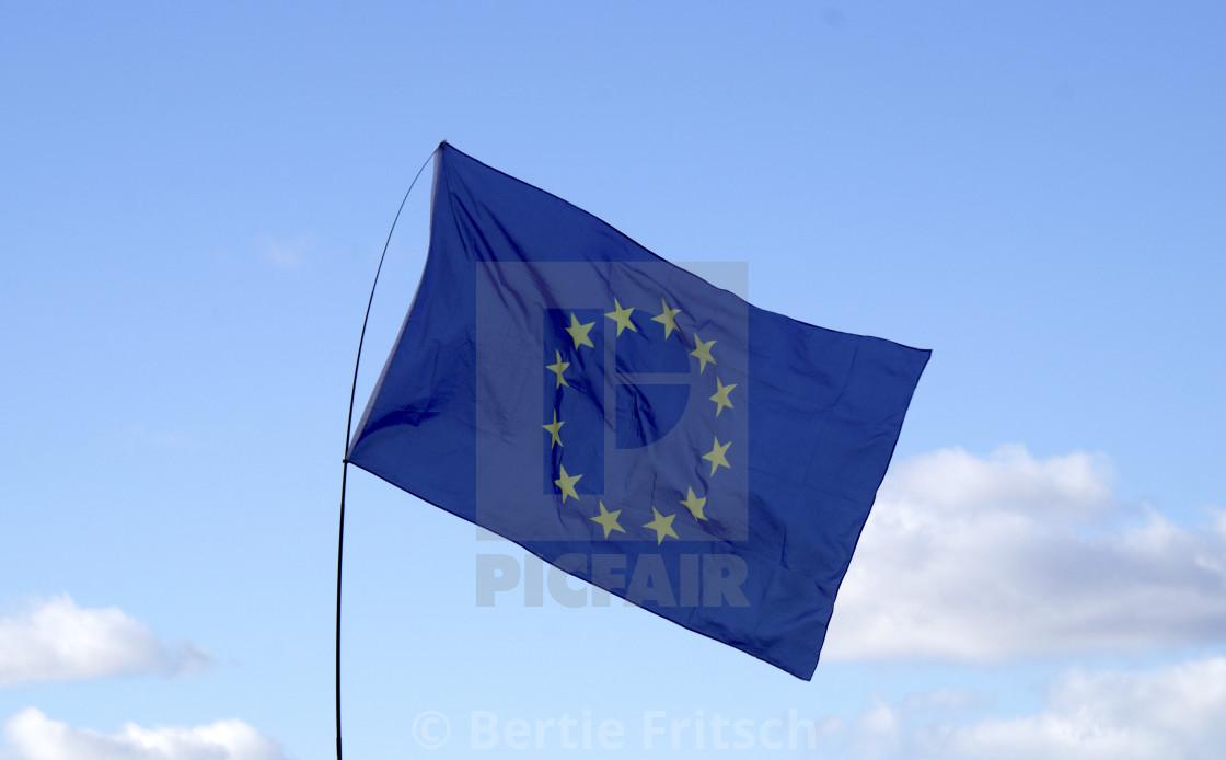 """""""European Union Flag"""" stock image"""