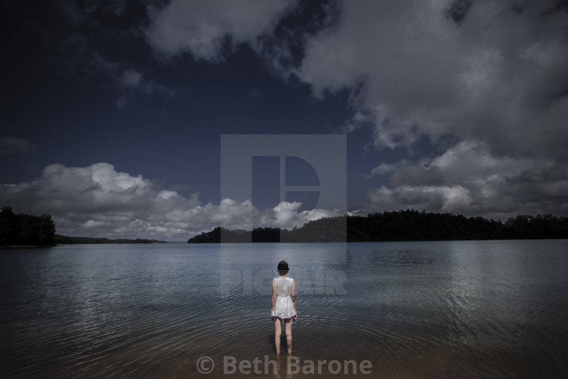 """""""Geography of dreams #0154"""" stock image"""