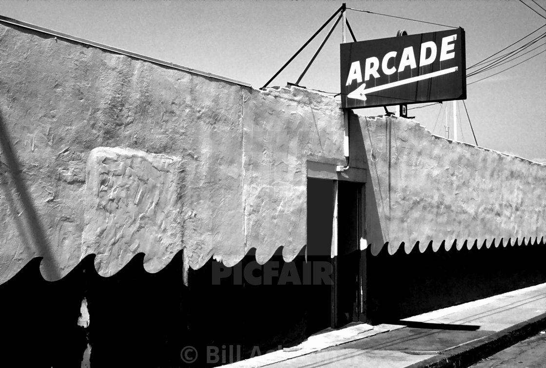 """Arcade"" stock image"