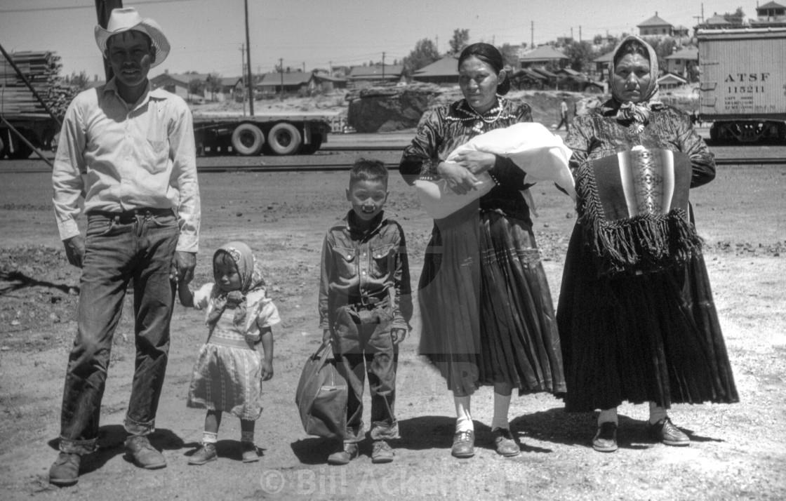"""Gallup, New Mexico, 1957"" stock image"