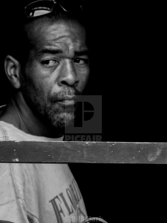 """Cuban poet"" stock image"