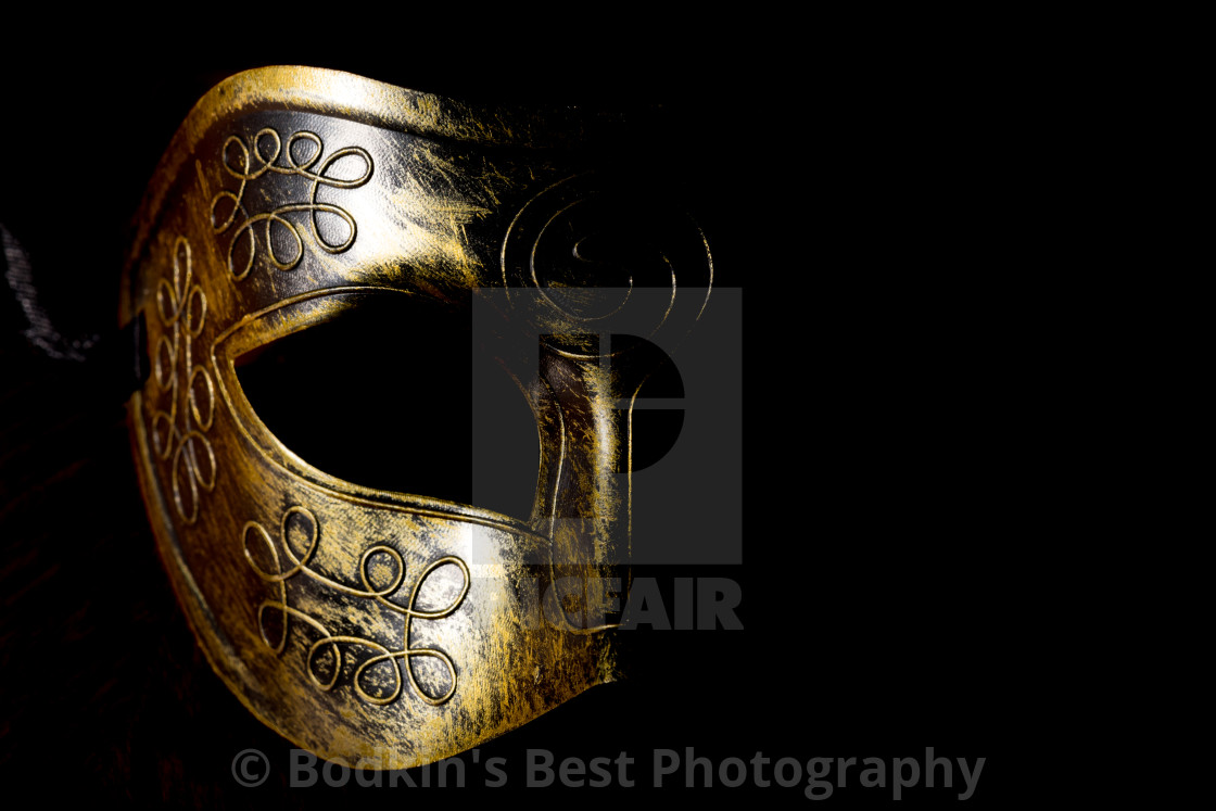"""The Mask"" stock image"