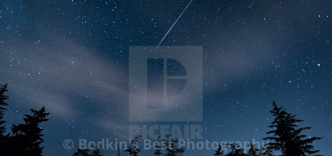 """Meteor Shower"" stock image"