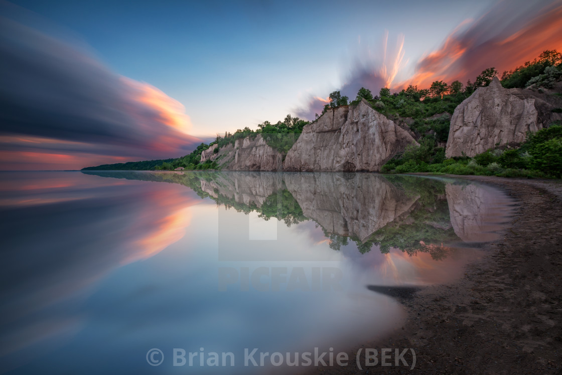 Bluff Reflection