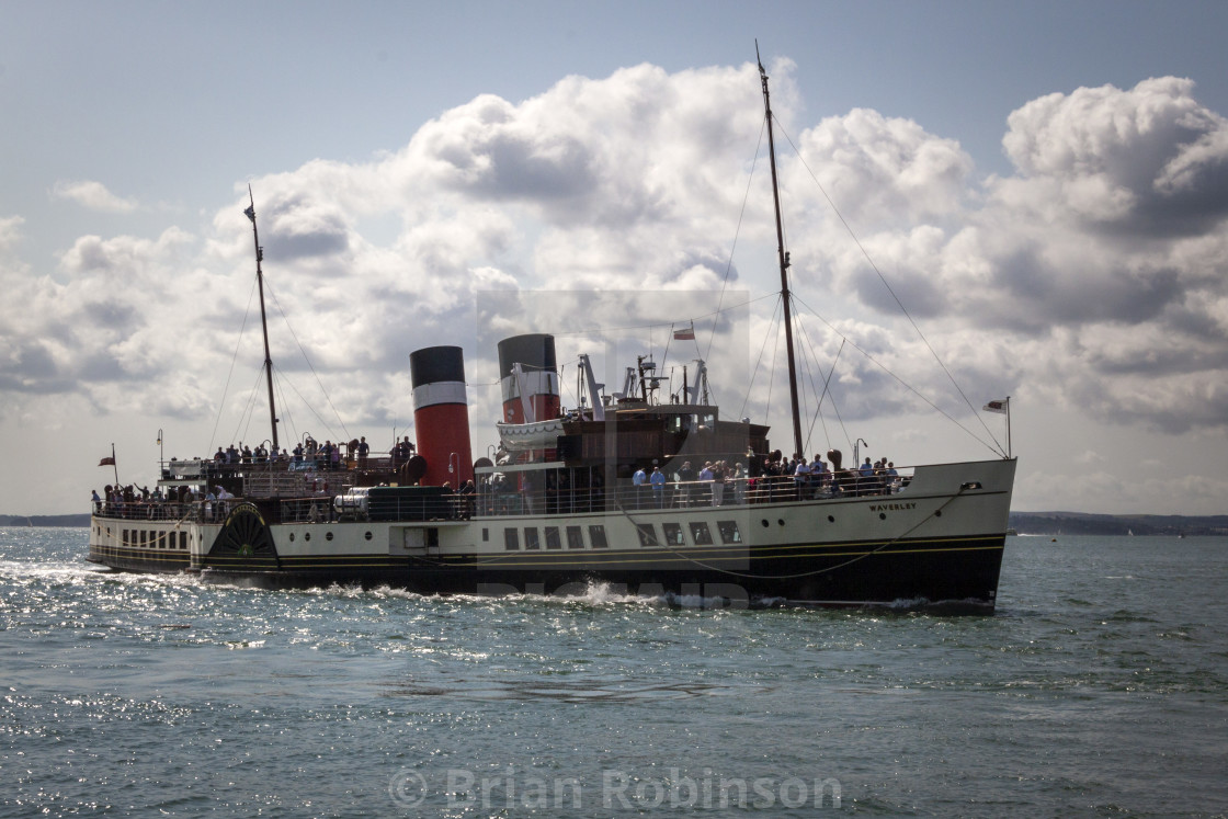 """""""Paddle Steamer"""" stock image"""
