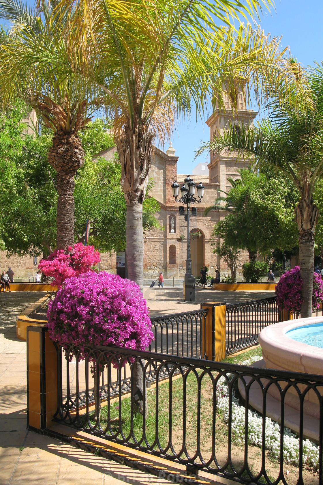 """Torrevieja Church"" stock image"