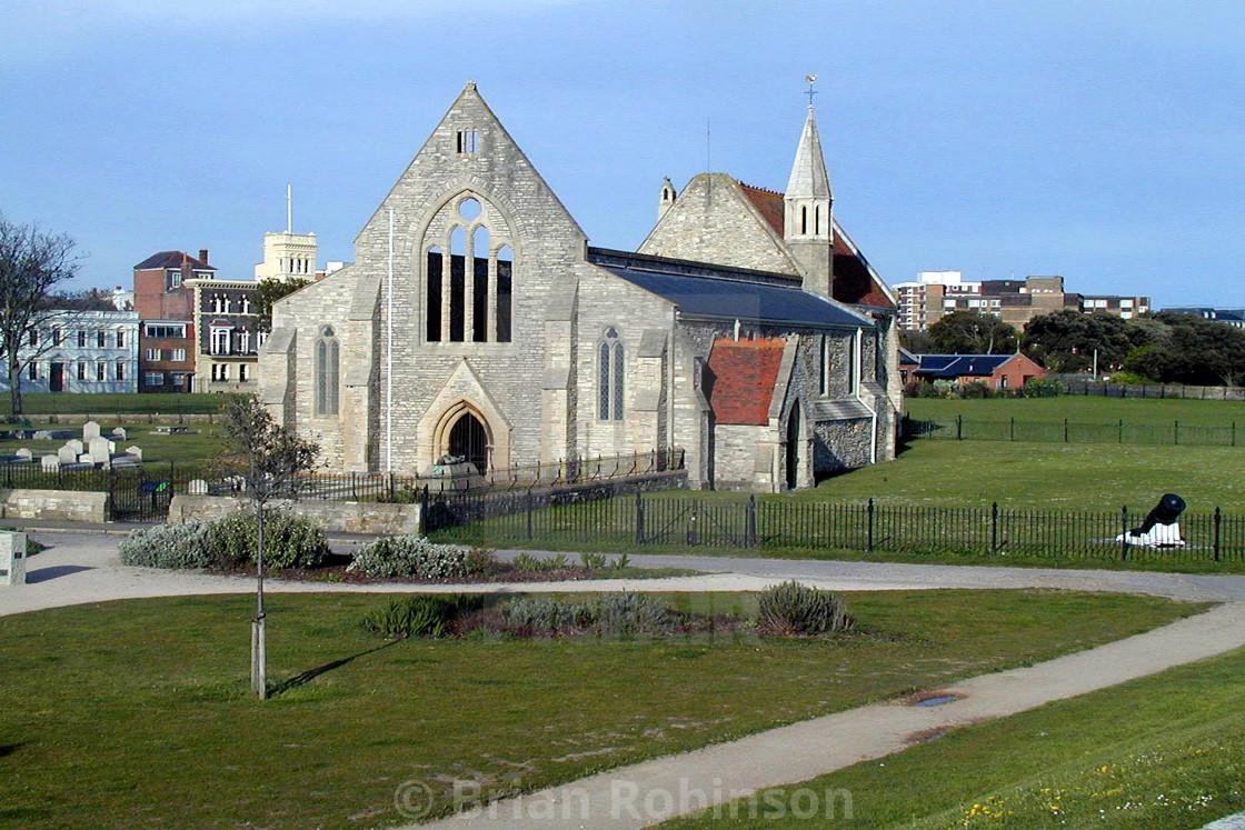 """Garrison Church"" stock image"