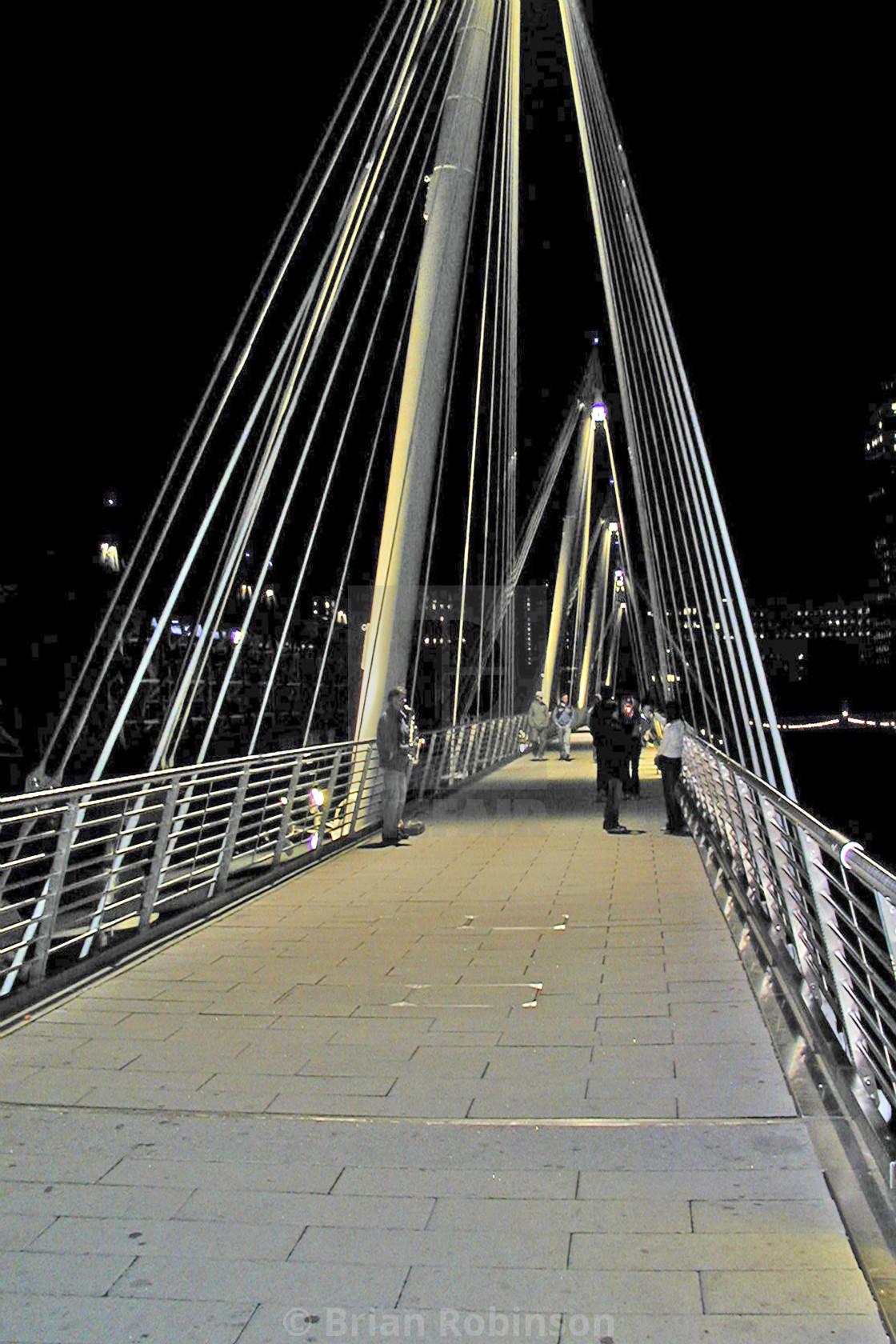 """""""Jubilee Bridge"""" stock image"""