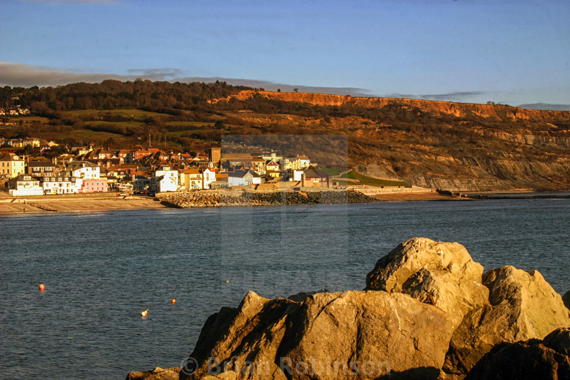 """Lyme Regis"" stock image"