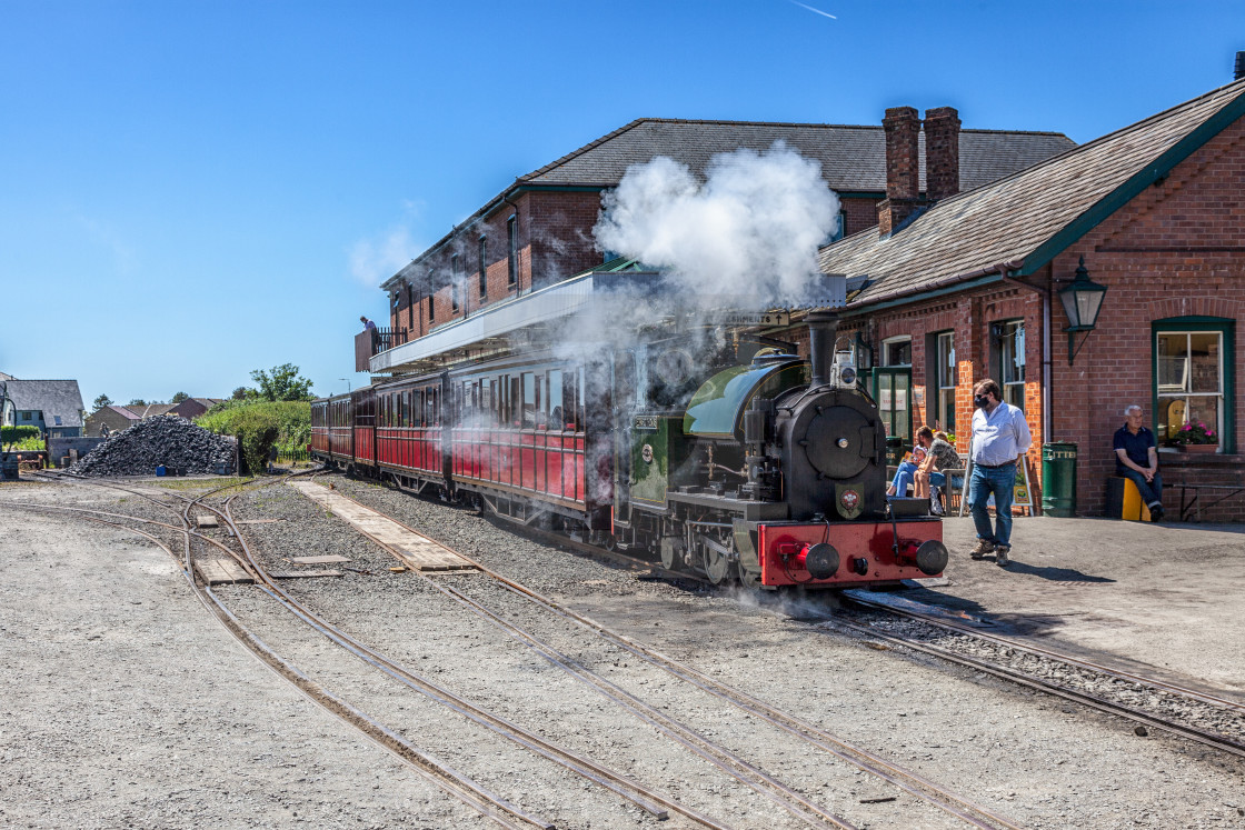 """Talyllyn Railway"" stock image"