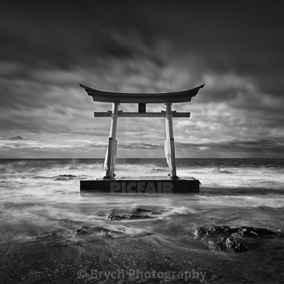 """Torii gate"" stock image"