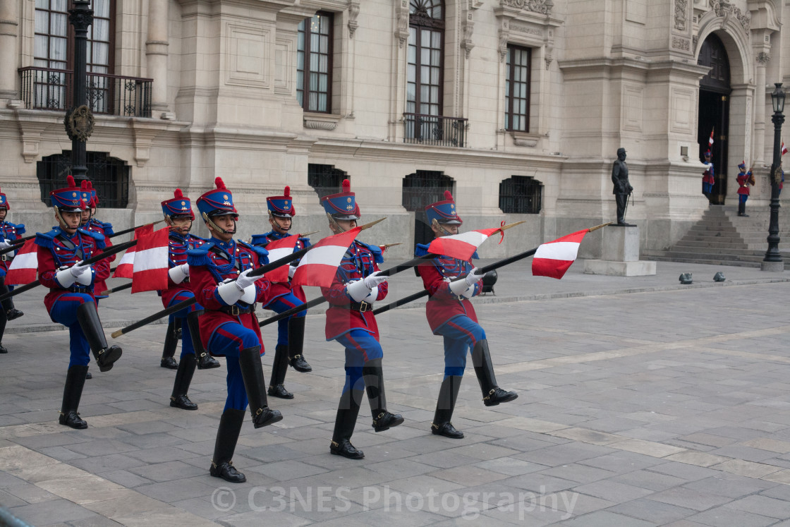"""""""Changing of the Guard"""" stock image"""