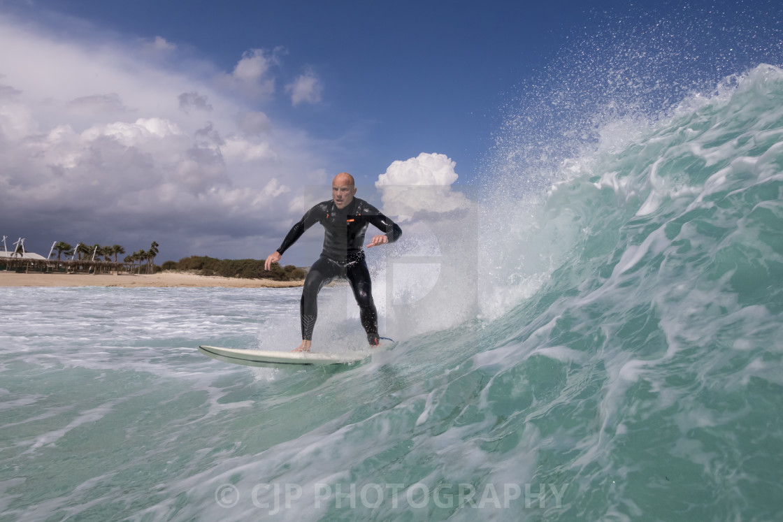"""""""Surfing"""" stock image"""