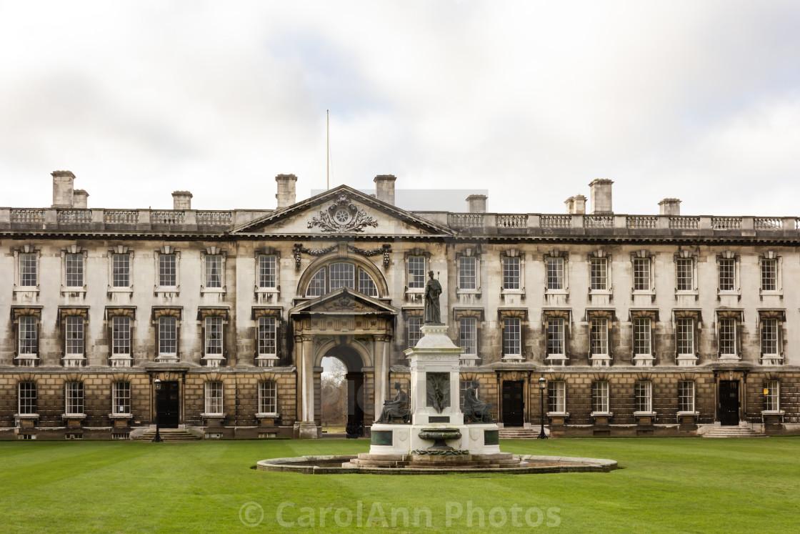 """""""The Gibbs Building, Cambridge"""" stock image"""