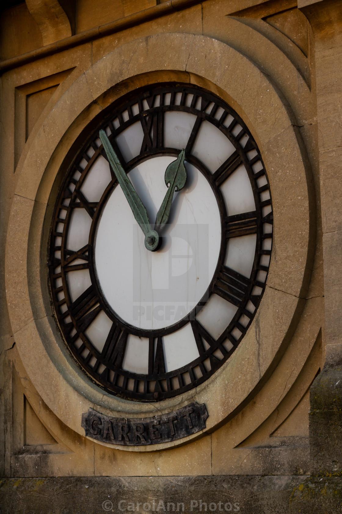 """Clock face"" stock image"