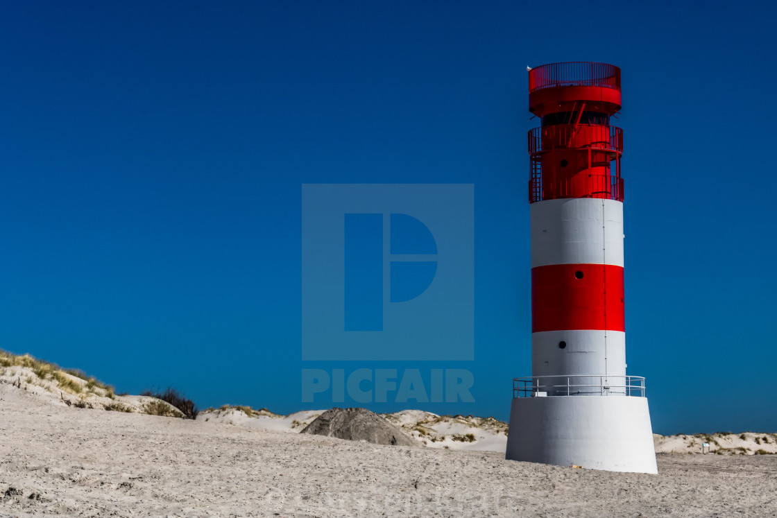 """""""Red-white Lighthouse"""" stock image"""
