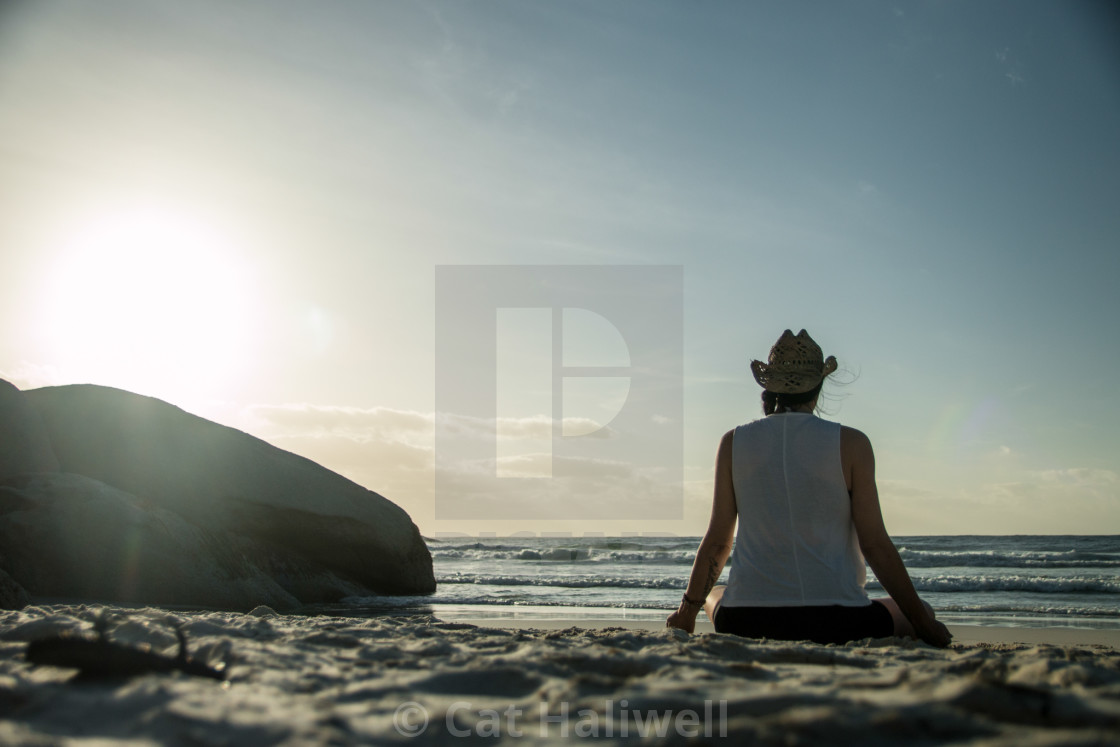 """""""Namaste BoHo"""" stock image"""