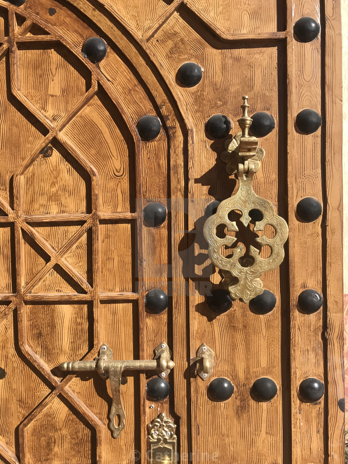 """Beautiful Moroccan door"" stock image"