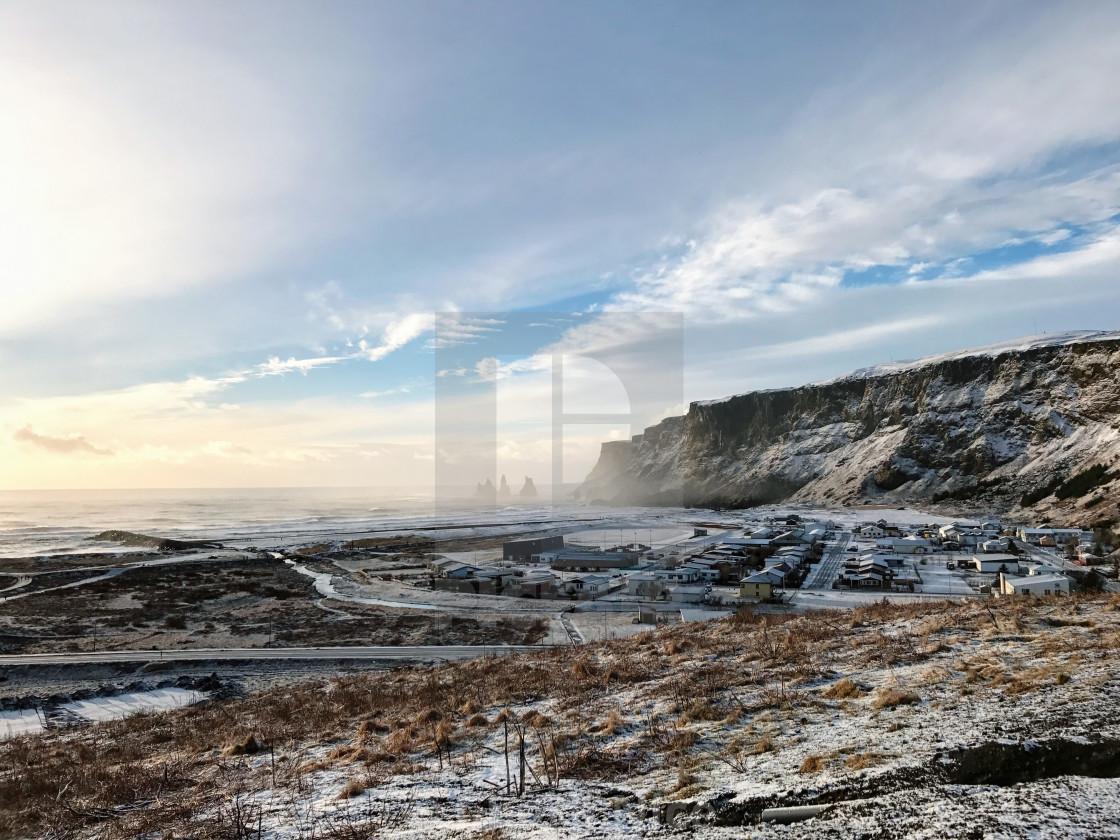 """Iceland Skies"" stock image"