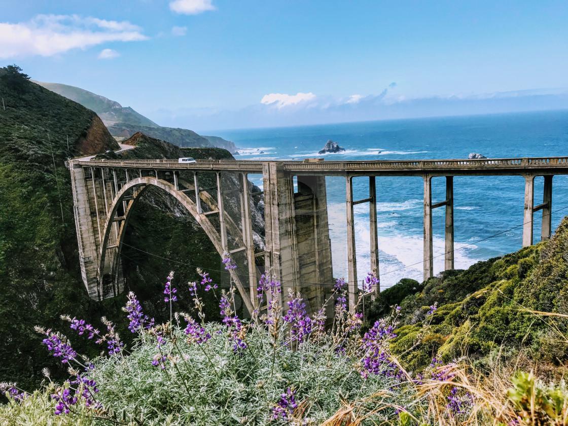 """""""Big Little Bridge"""" stock image"""