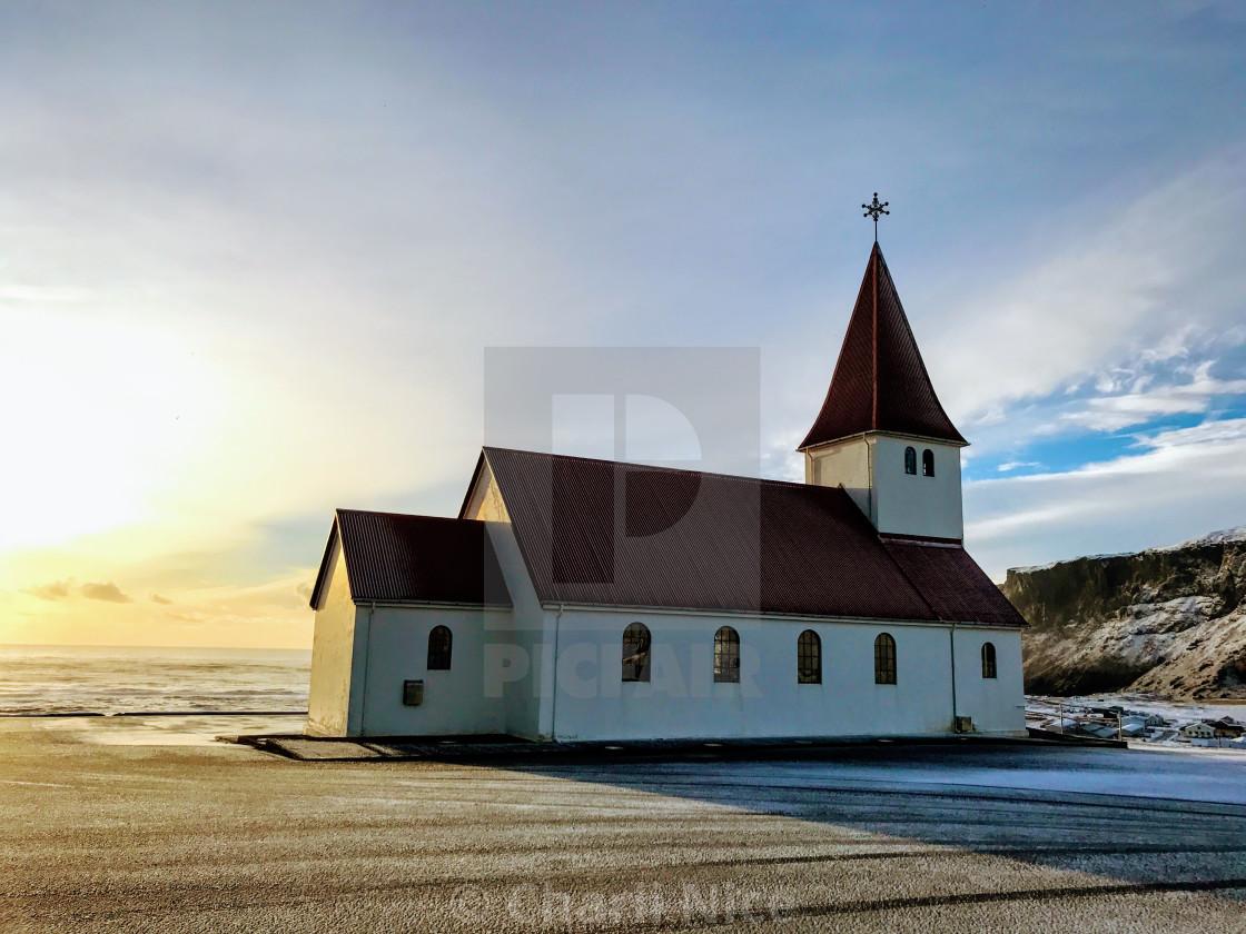 """Reyniskyrka Church"" stock image"