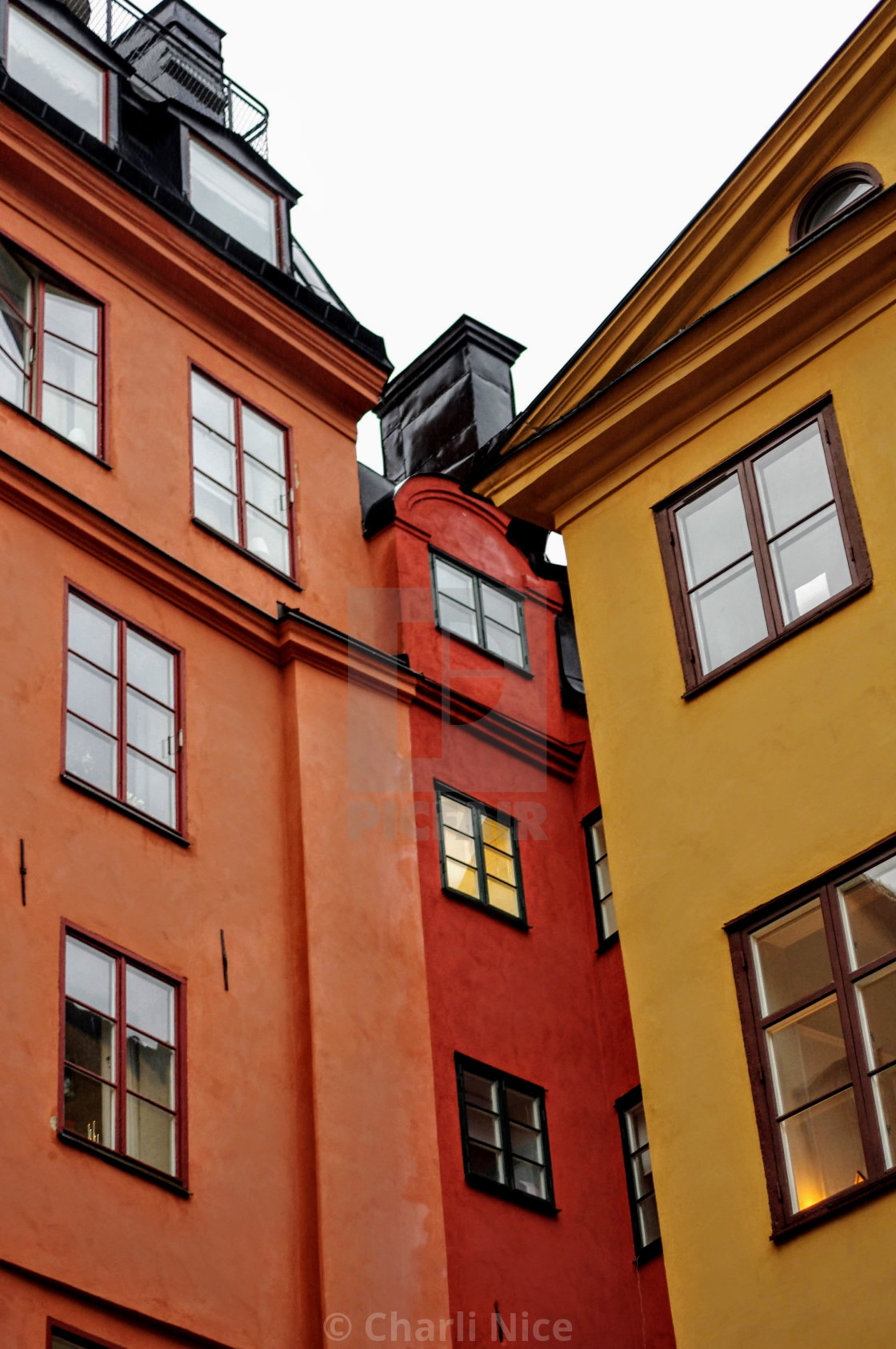 """""""Shades Of Stockholm"""" stock image"""