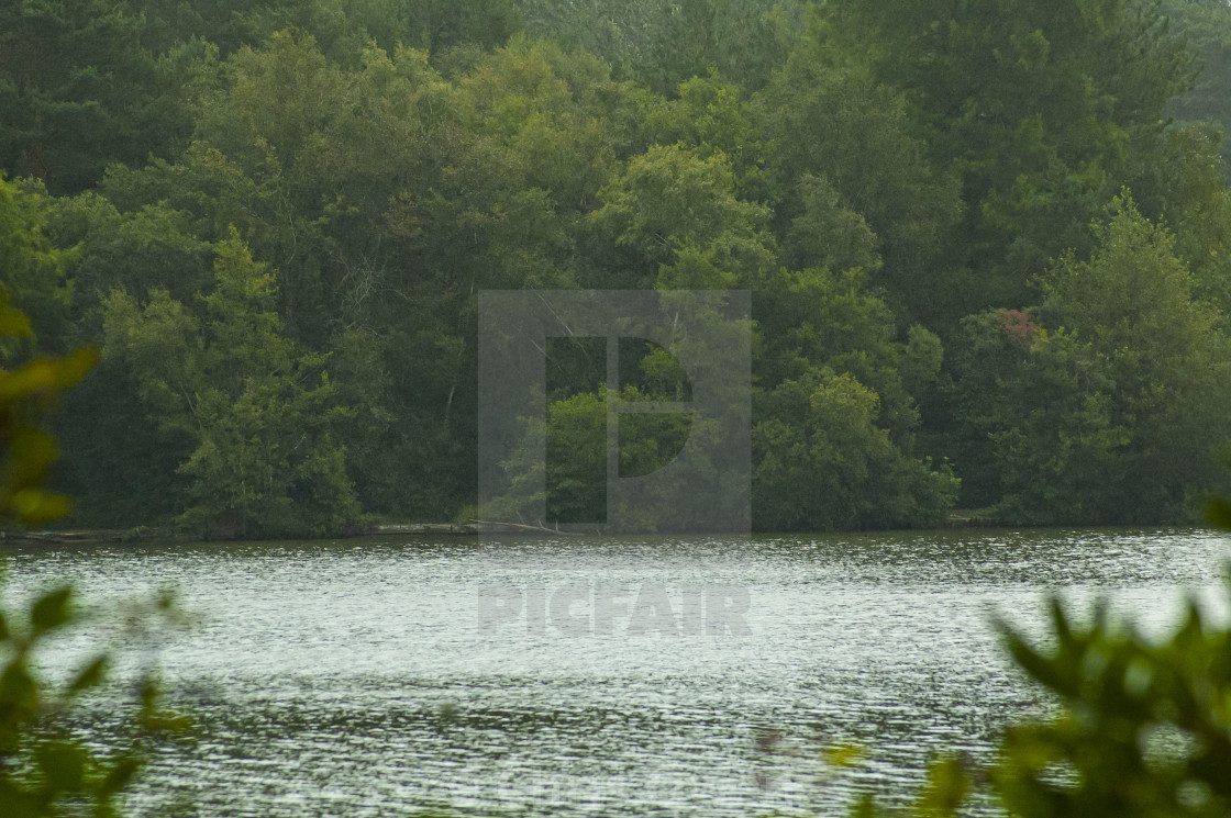 """Hawley Lake"" stock image"