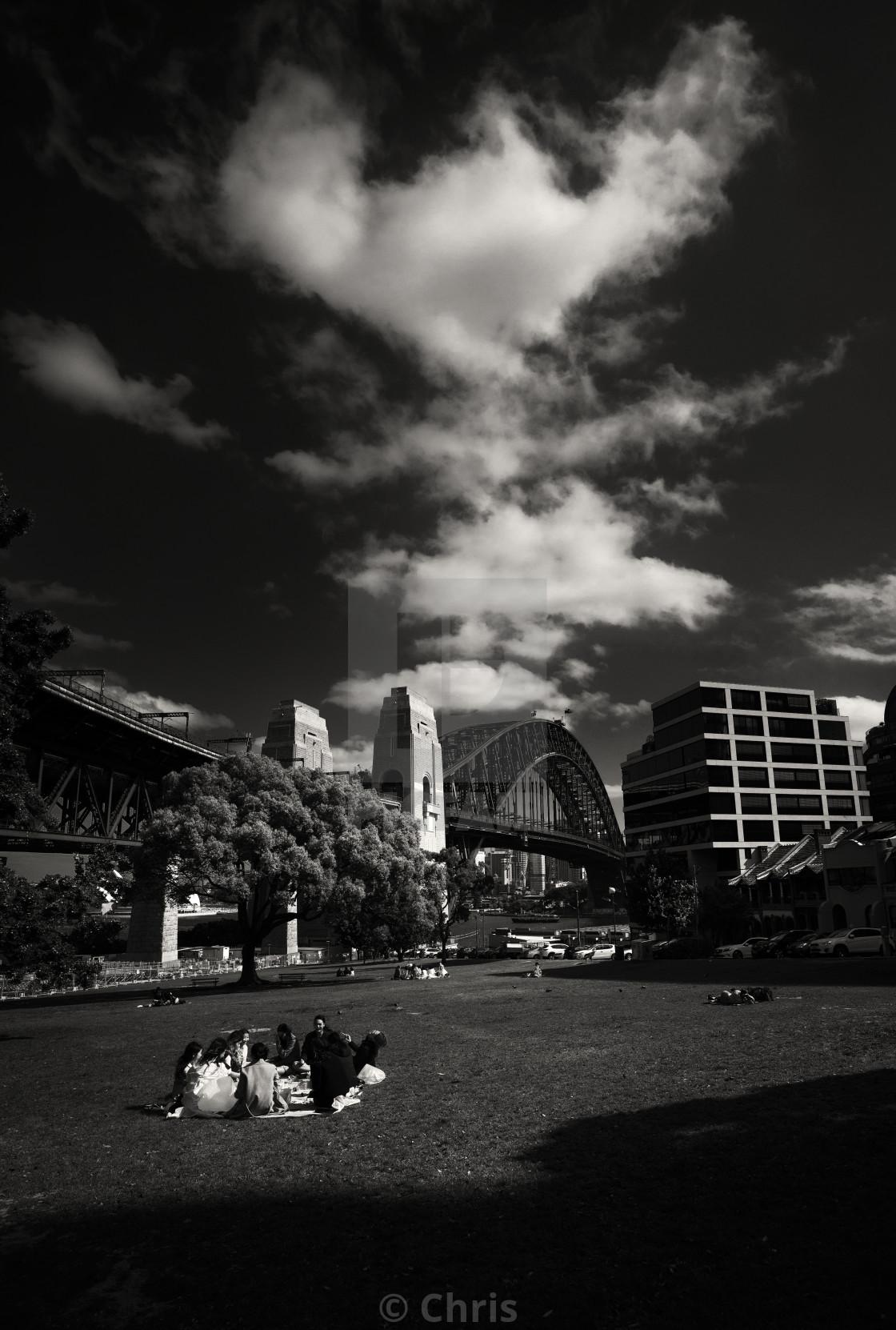 """""""Harbour bridge Sydney"""" stock image"""