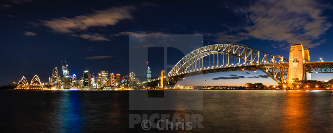 """""""Opera House & Harbour Bridge"""" stock image"""