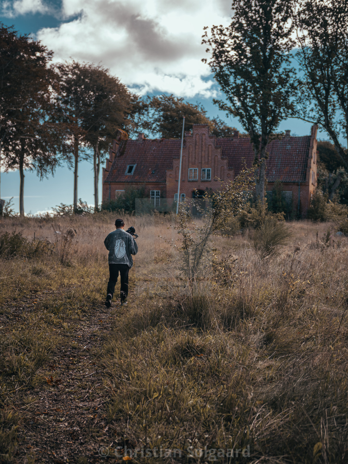 """Abandoned house in Viborg"" stock image"