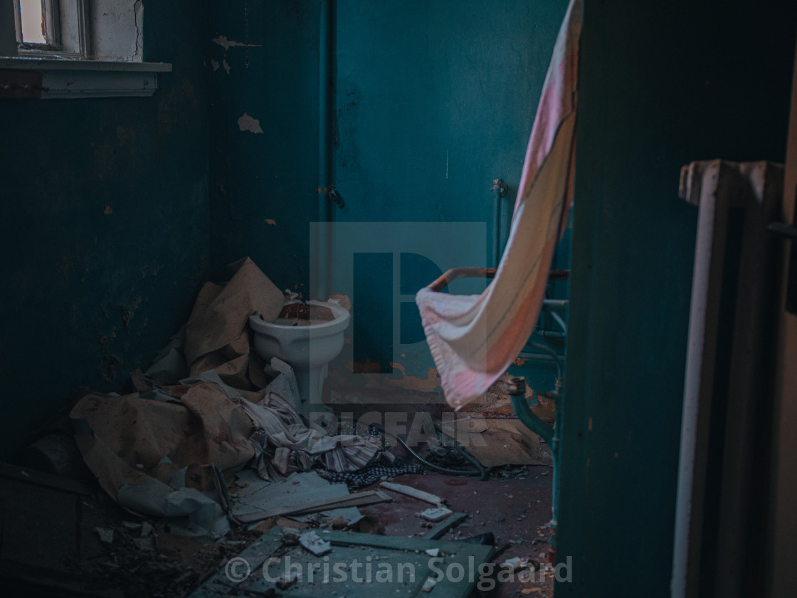 """""""Abandoned house interioir"""" stock image"""