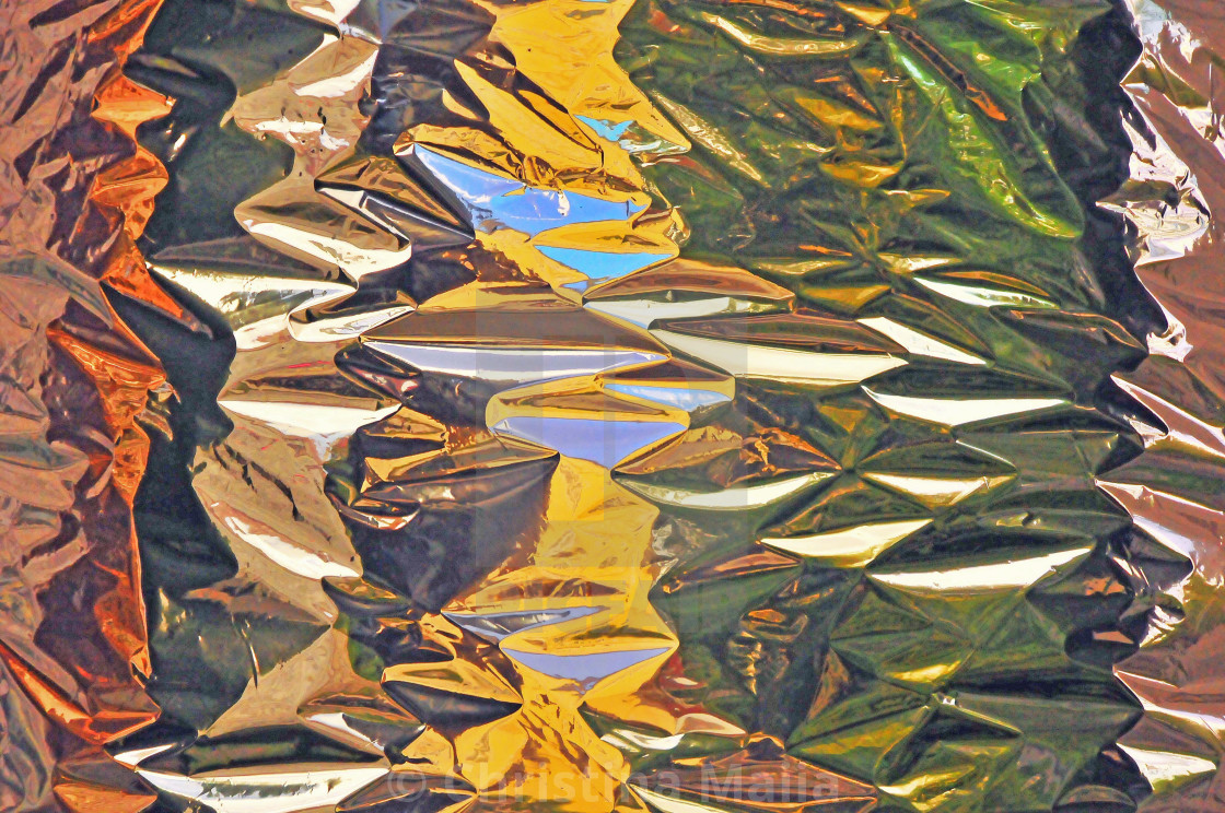"""""""Colored Metal - Abstracts"""" stock image"""
