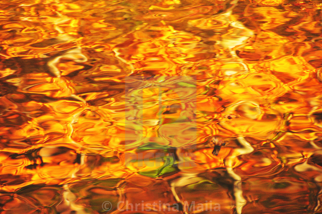 """""""Golden Flow- Abstracts"""" stock image"""