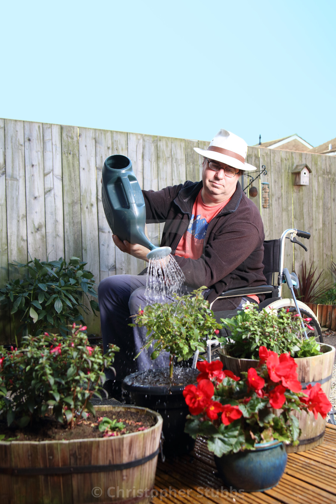 Disabled Gardener