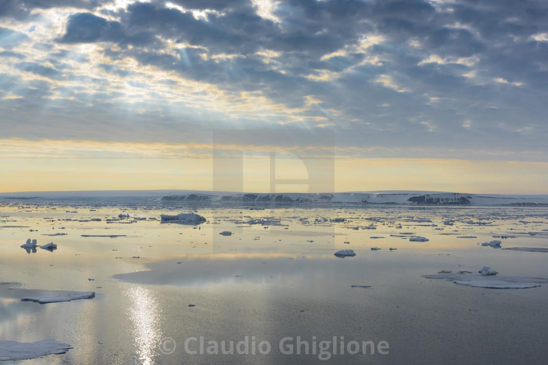 """Polar landscapes, Arctic"" stock image"