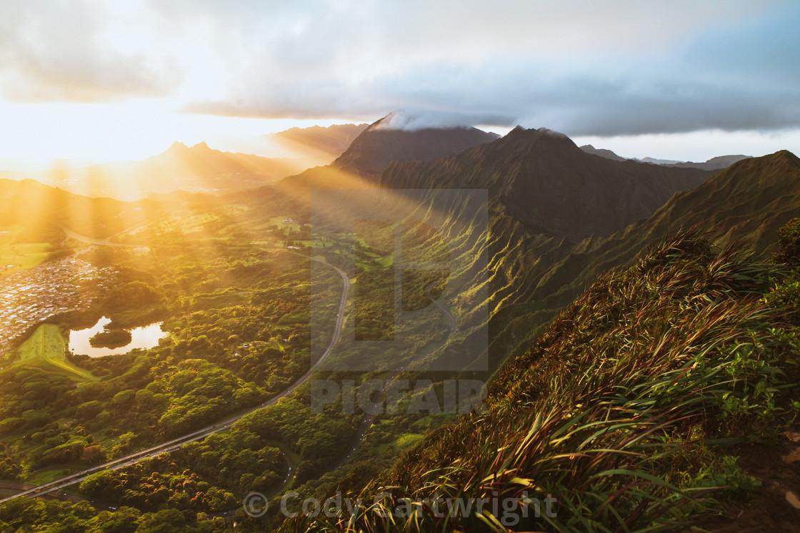 """Sunrise In Heaven"" stock image"