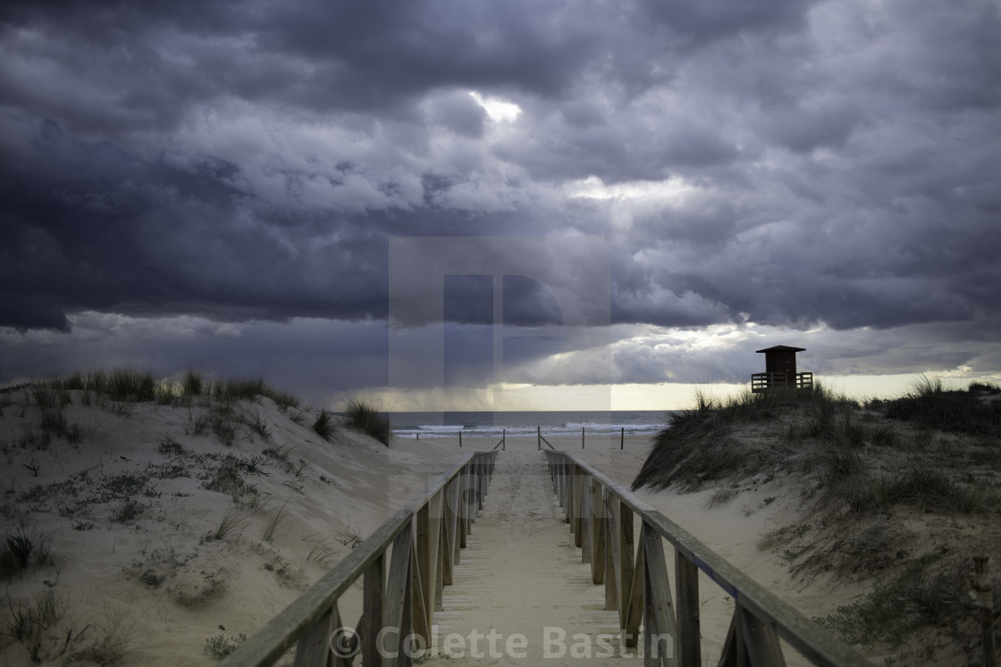 """""""Stormy Weather"""" stock image"""