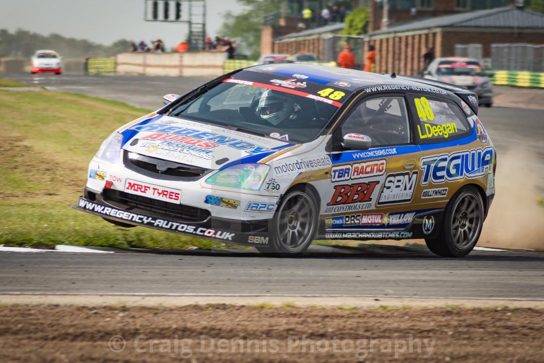 """Rallycross - Croft"" stock image"