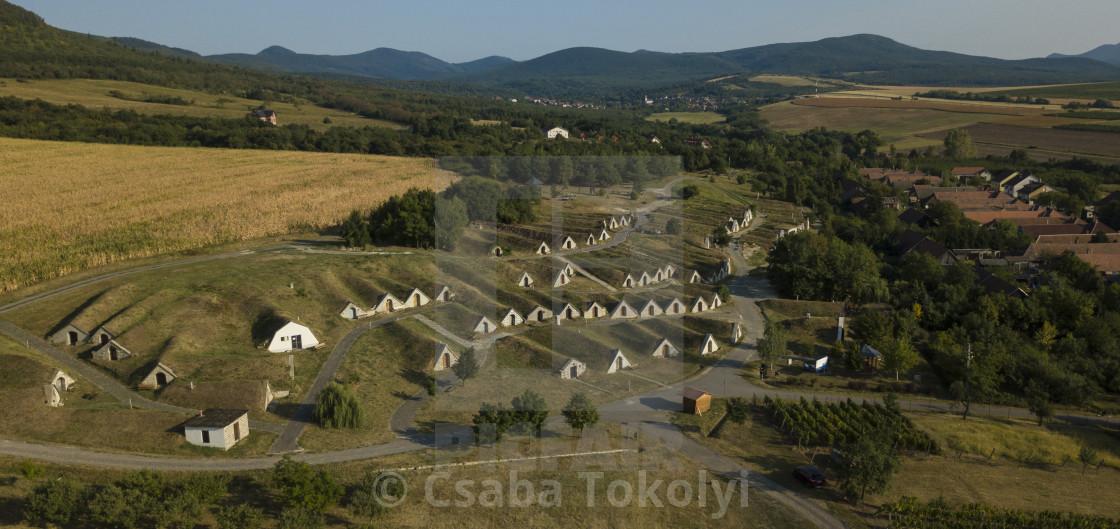 """World Heritage Cellars of Hercegkút"" stock image"