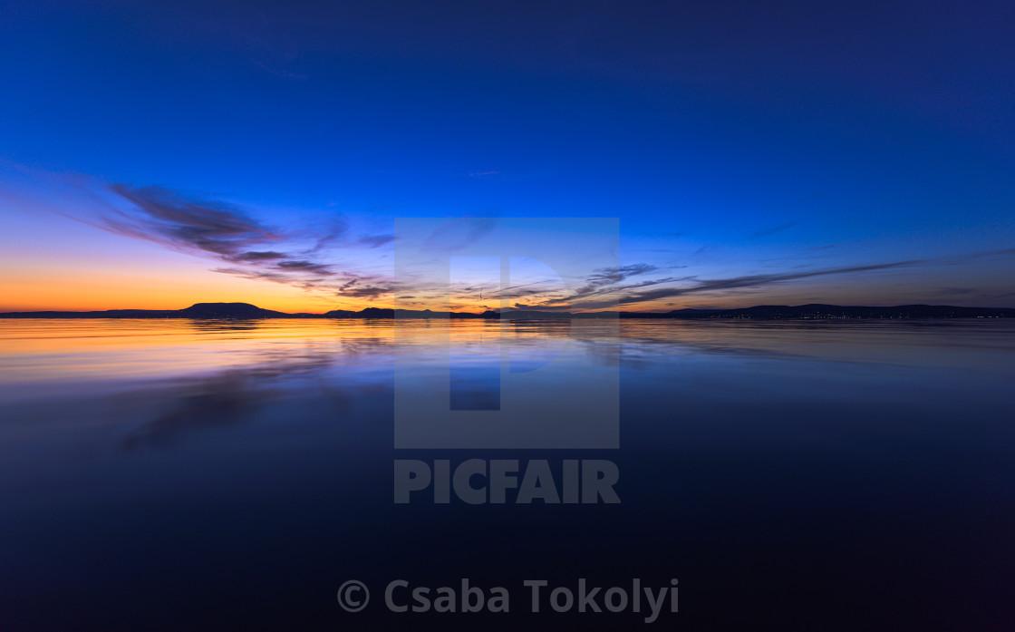 """""""Lazy sunset"""" stock image"""