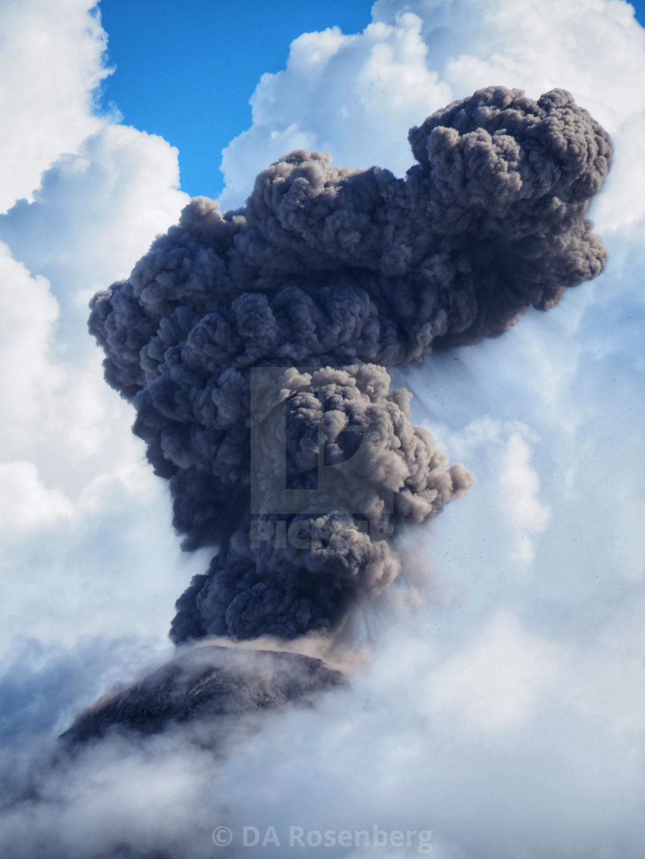"""""""Volcano de Fuego 2"""" stock image"""