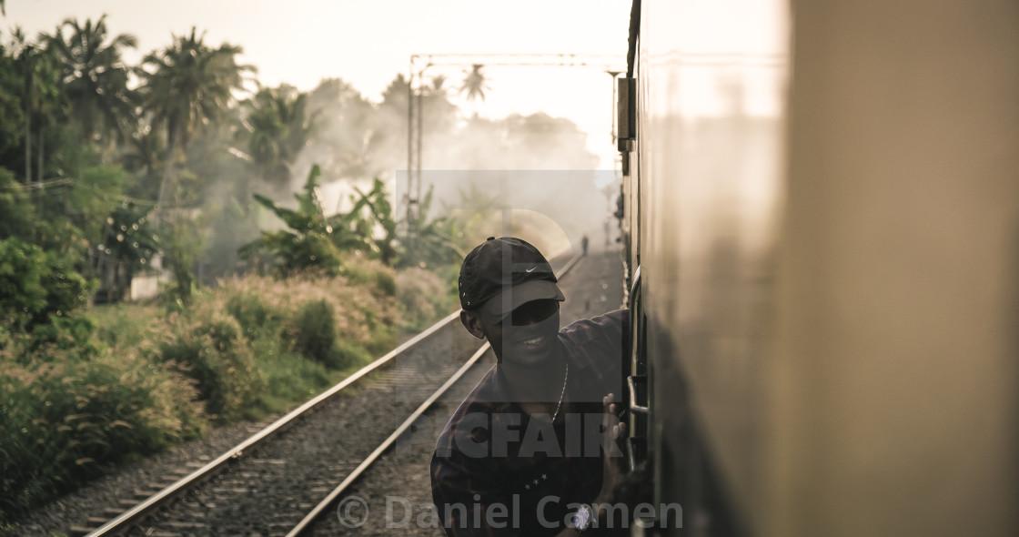 """Crazy Train"" stock image"