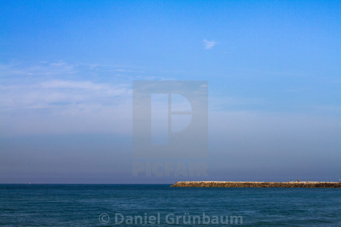 """""""View of the Mediterranean"""" stock image"""