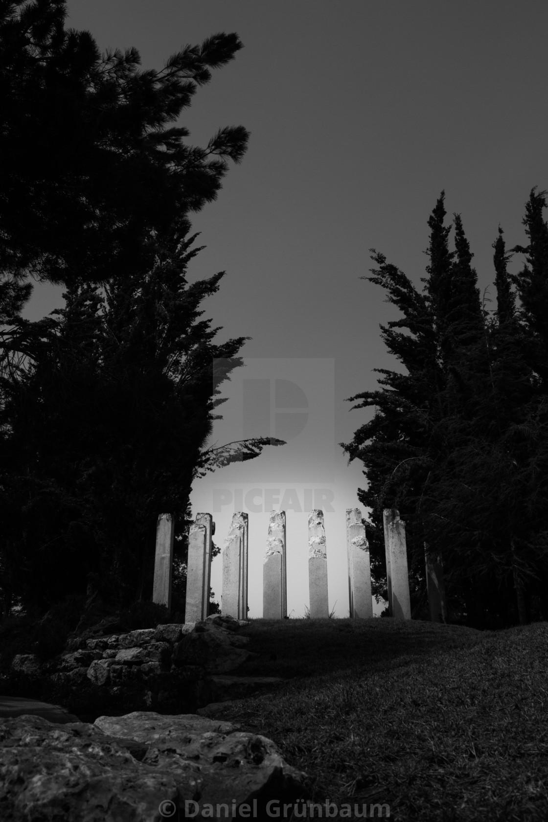 """""""Holocaust memorial in Israel"""" stock image"""