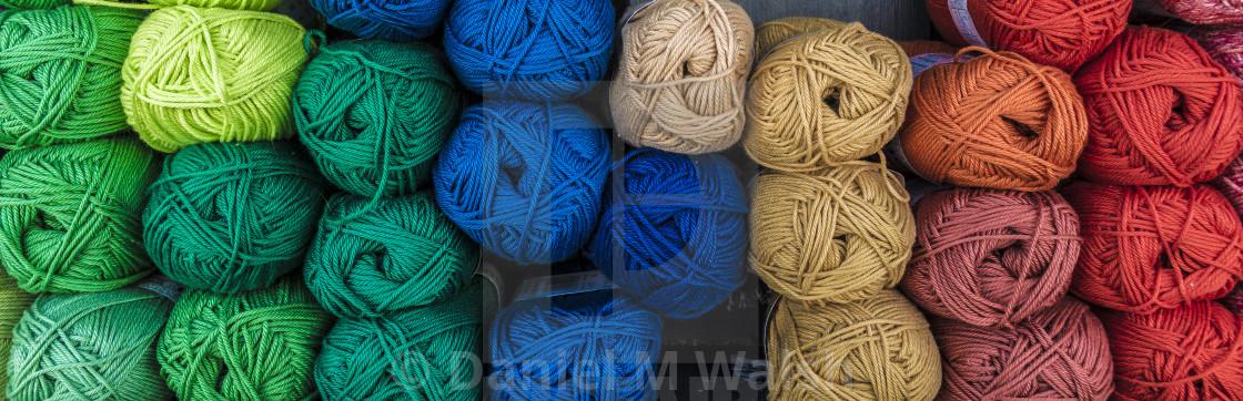 """Wool balls."" stock image"