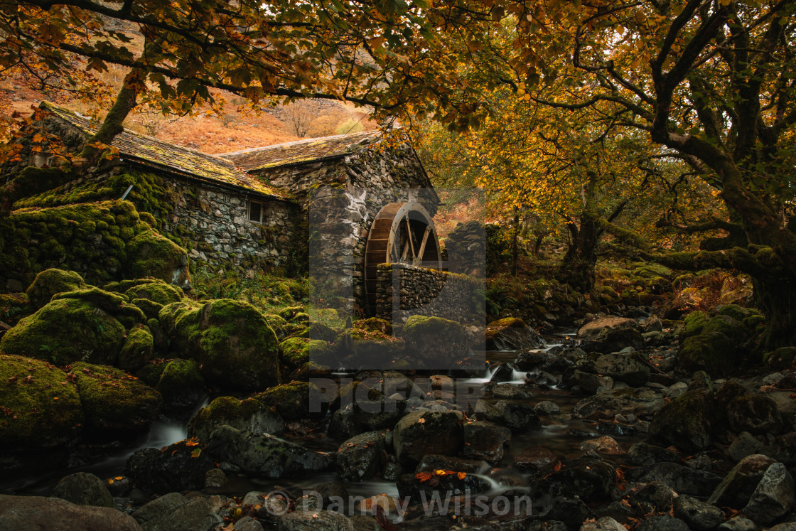 """""""The Old Watermill"""" stock image"""
