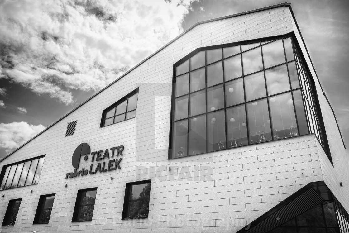 """Theatre Building"" stock image"