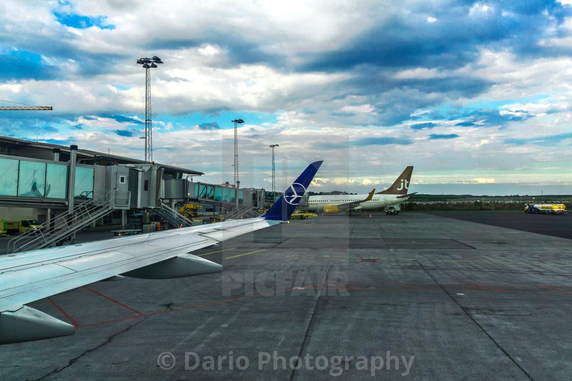 """Billund Airport"" stock image"
