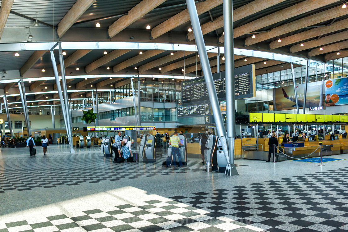 """Billund Airport"" stock image"