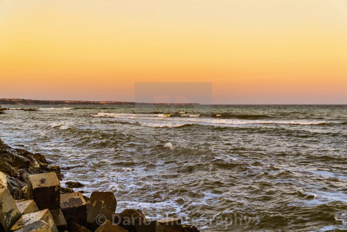 """The Black Sea"" stock image"